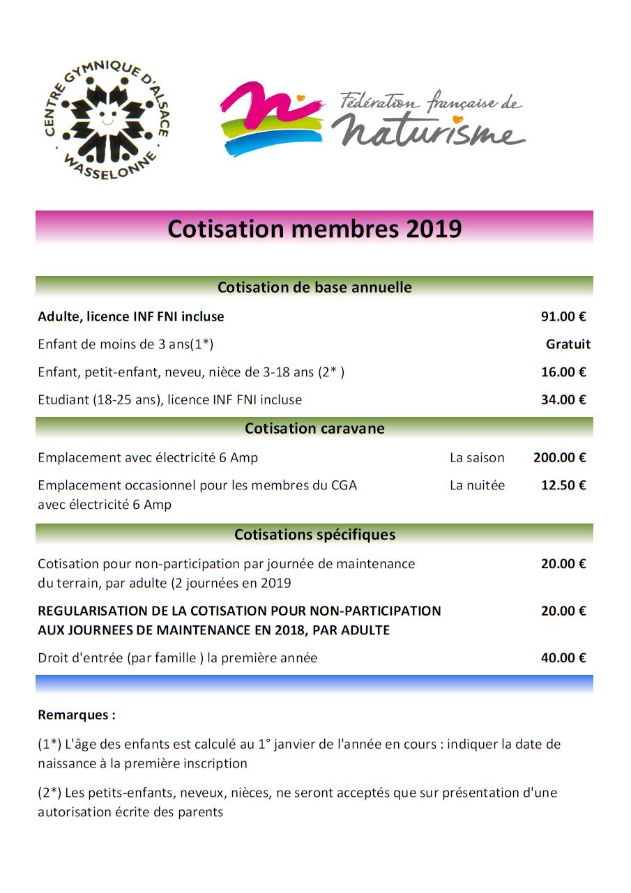 Tarifs membres 2019 v2